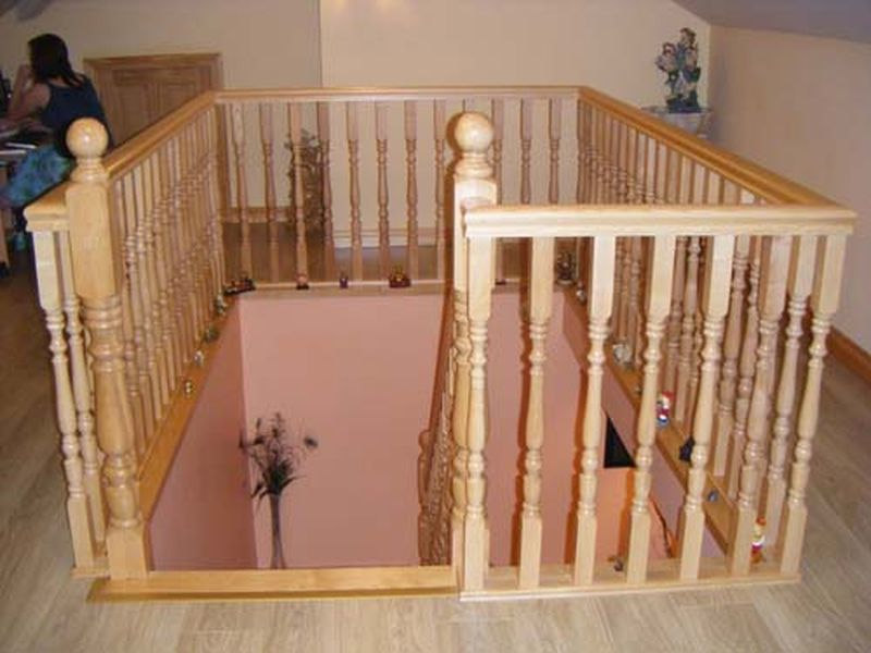 Ash Stairs - Inniskeen Joinery Works
